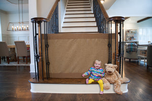 The Stair Barrier Safety Gate