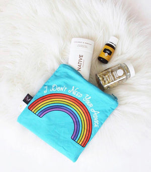 Itzy Ritzy After Dark Advice Rainbow Snack Bag (Advice Rainbow)