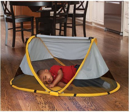 KidCO Peapod Portable Bed,Sunshine