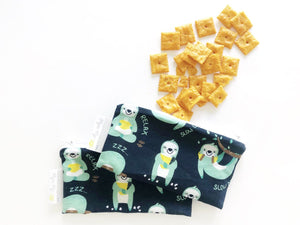 Mini Reusable Snack Bags (2 Pack)