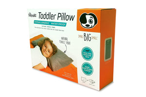 Water-Proof Natural Fiber Toddler Pillow and Cover - SALE