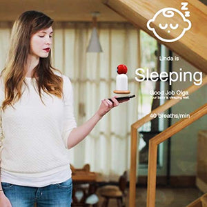 Raybaby - Best Baby Monitor Tracks Sleep and Breathing, Includes Video, Audio, Camera and WiFi Phone App