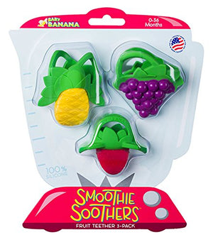 Baby Banana Smoothie Soothers 3 - Pack