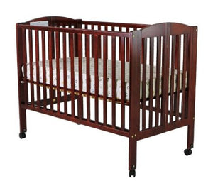 Dream On Me Full Size Stationary Side Crib w/Mattress and Linen