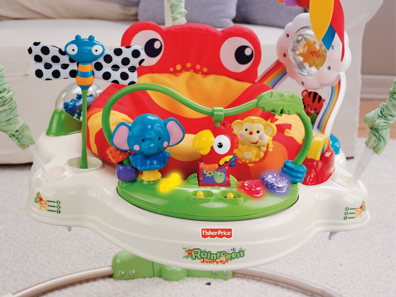 95e48c485 Fisher-Price Rainforest Jumperoo – The Pampered Pickle