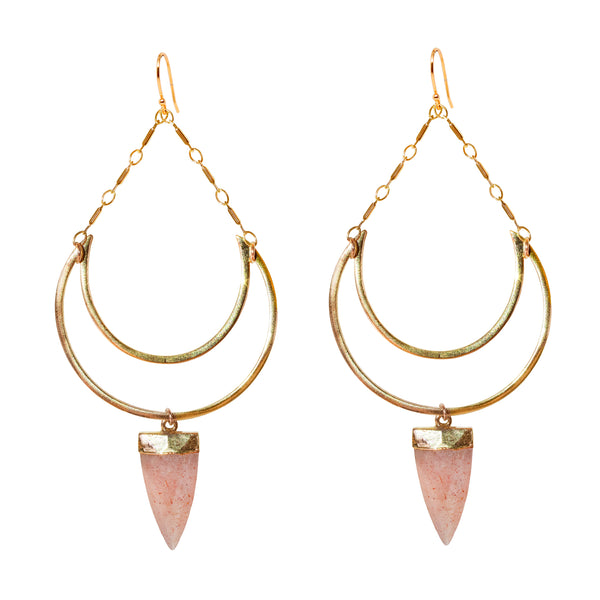 Pink Goddess Earrings