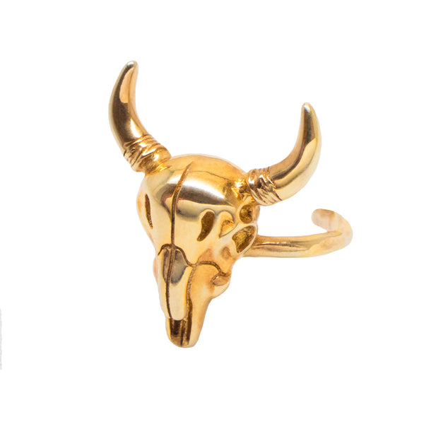 Detailed Longhorn Ring