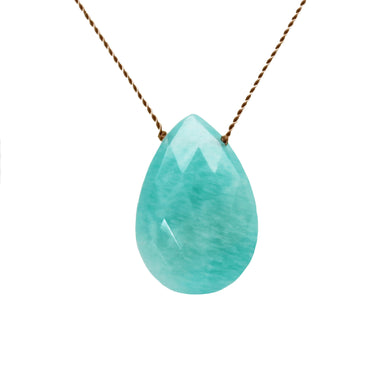 Amazonite Stone On A String