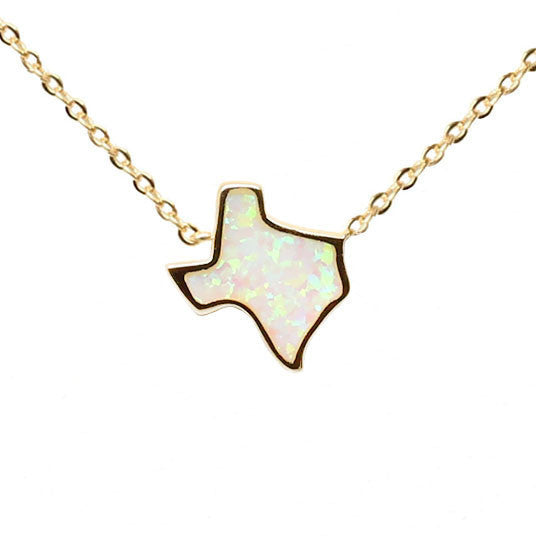 Texas Fire Opal Necklace