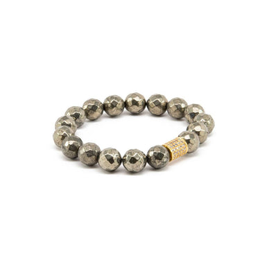 Pyrite Stacker Bracelet