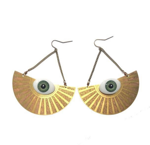 All Seeing Eye Earring