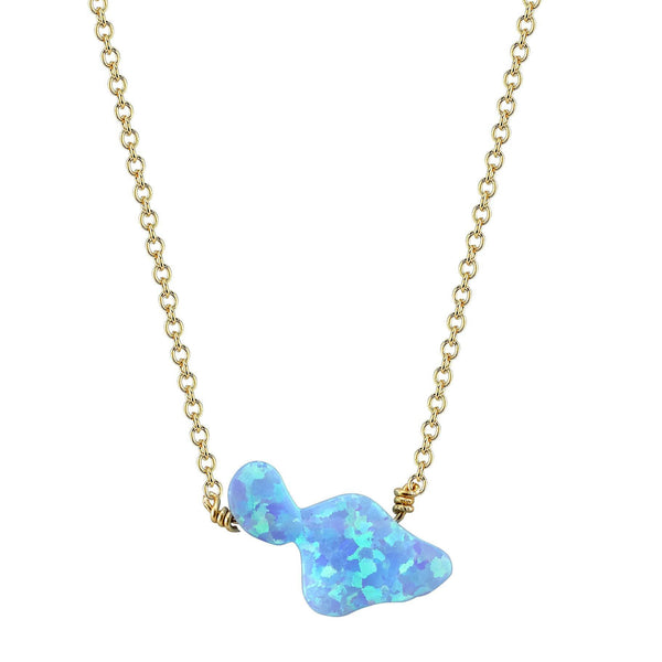 Maui Fire Opal Necklace