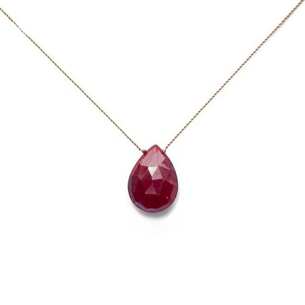 Ruby Stone On A String