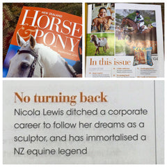 NZ Horse & Pony Article Artist Nicola Lewis