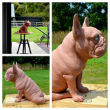 French Bulldog Bronze Sculpture