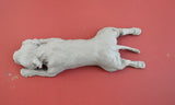 """Staffie Yoga"" Mini Staffordshire Terrier Sculptures"