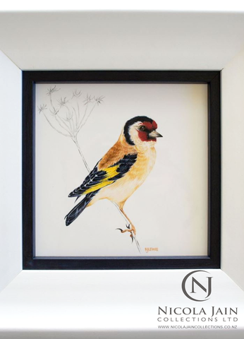 Goldie - Hand Painted on Porcelain (SOLD)