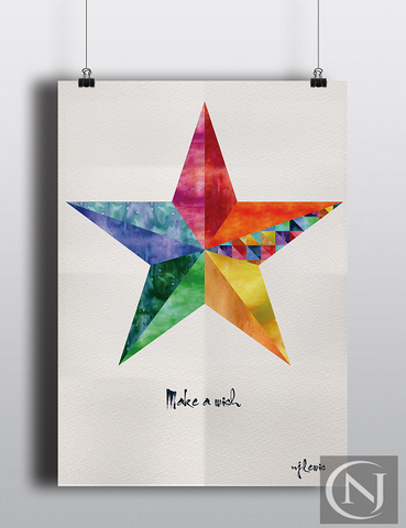Childs Print - Make a Wish