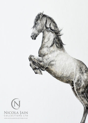 Spanish Horse Original Painting 3