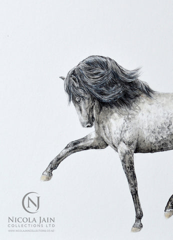 Spanish Horse Original Painting 1