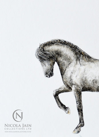 Spanish Horse Original Painting 2
