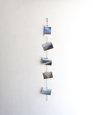Vertical Twine Photo Holder