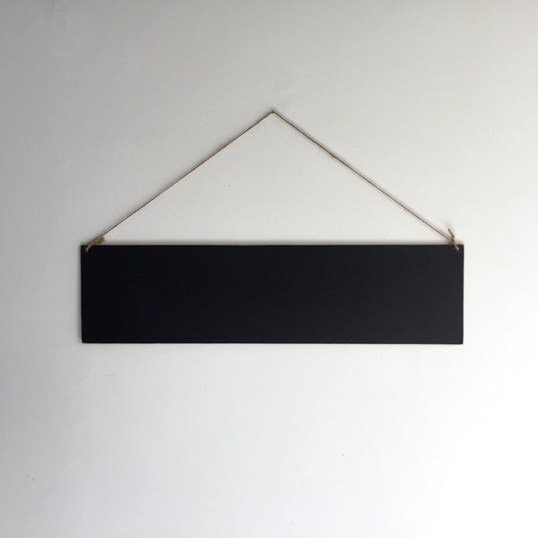 Hanging Chalkboard Sign - Horizontal