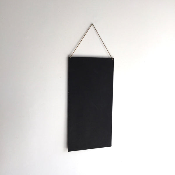 Hanging Chalkboard Sign - Vertical