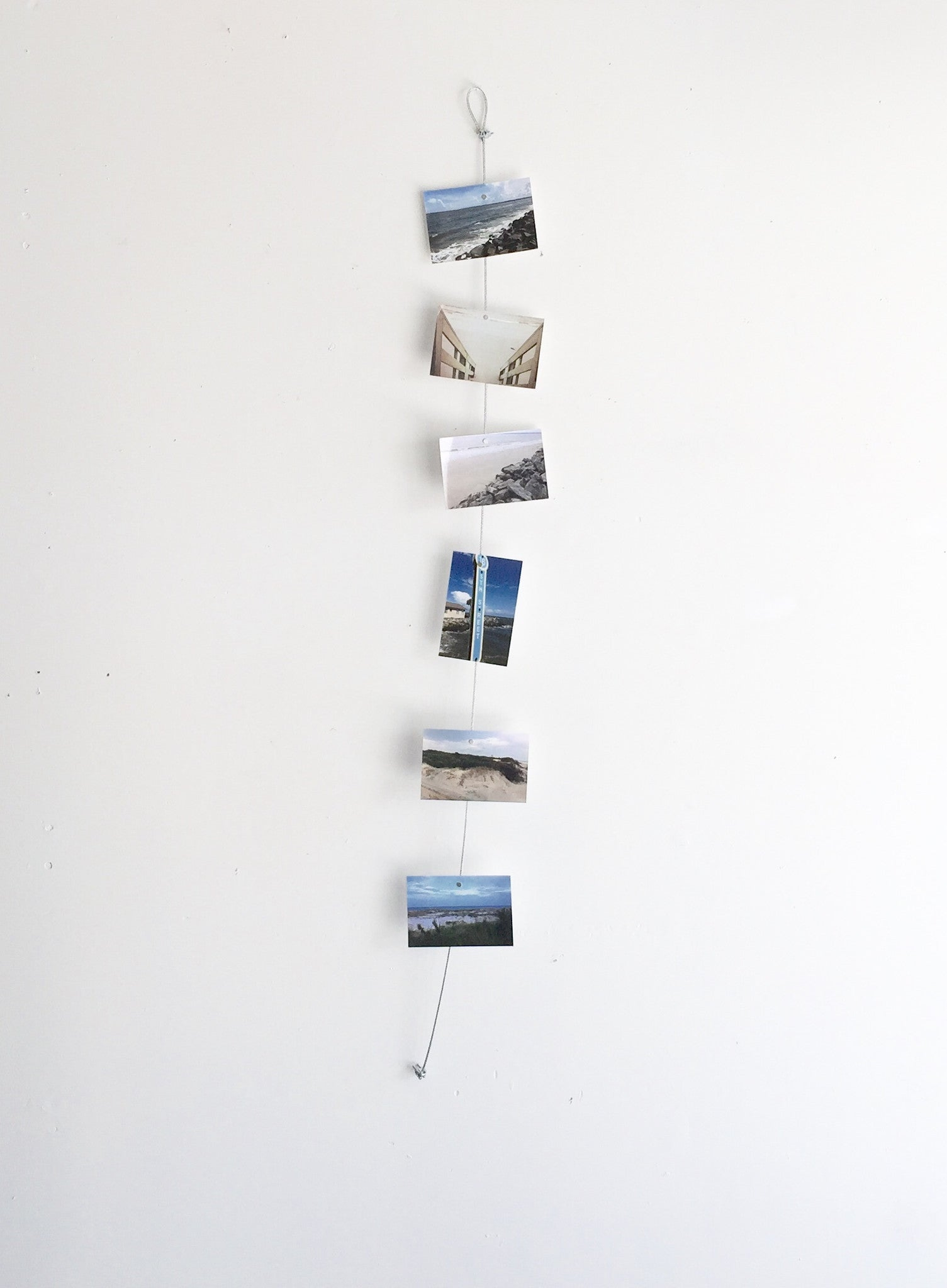 Vertical Cable Photo Holder