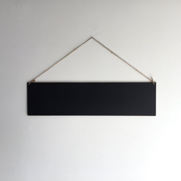 JETT | Hanging Chalkboard Sign