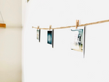 SHORE | Horizontal Twine Photo Holder