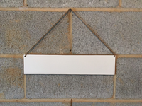 CLOUD | Hanging Whiteboard Sign