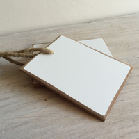 SHELL | Set of 2 Whiteboard Tags