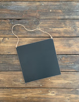 CITY | Hanging Chalkboard Sign