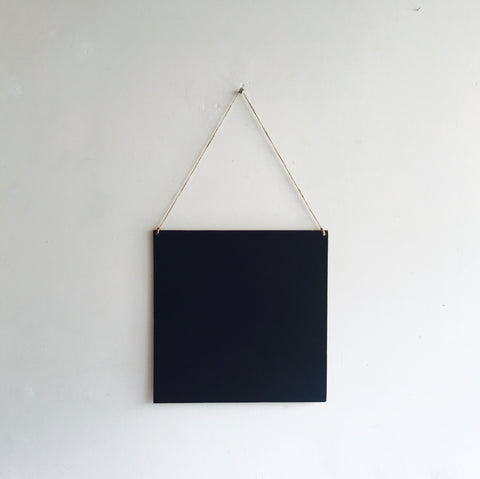 Hanging Chalkboard Sign - 12 x 12