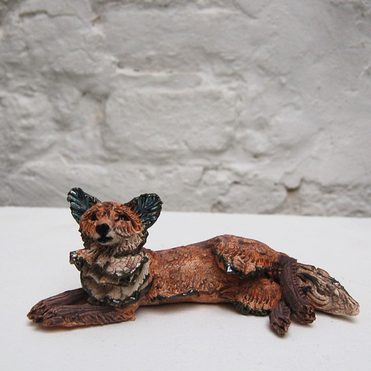 Small Reclining Fox