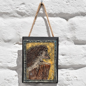 Hedgehog Plaque