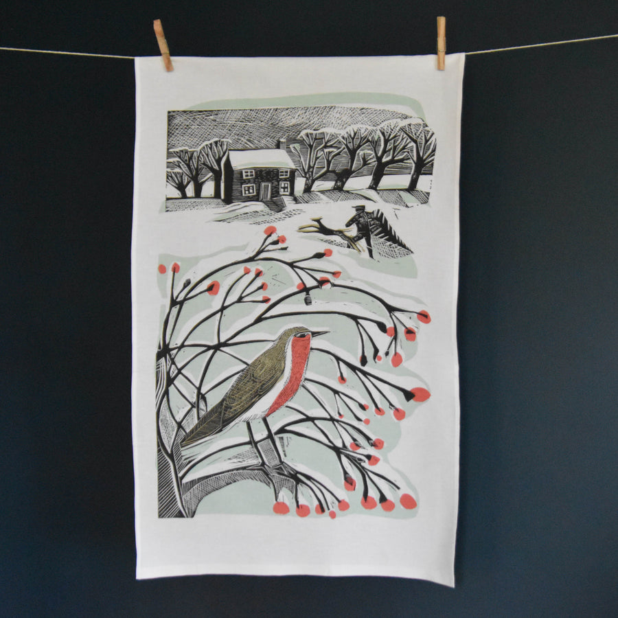 Bringing Back the Tree Teatowel