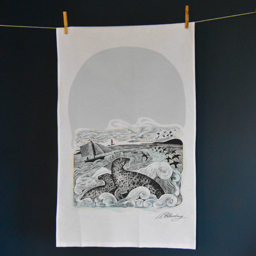 Seal Song Teatowel