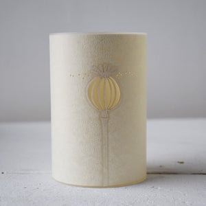 Tealight Cover - Poppy Head