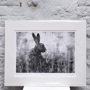 Hare in Grass II