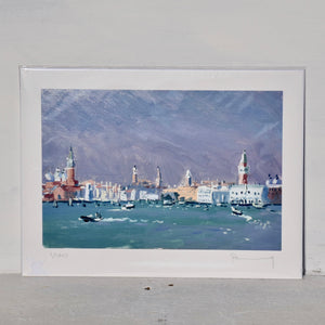Towers of Venice print