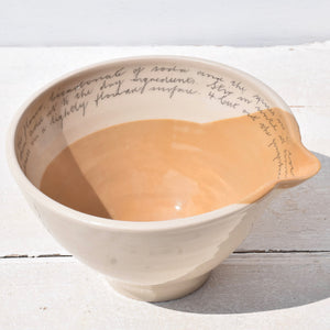 Large Gingerbread Mixing Bowl
