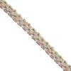 Scallop Raffia Braided Trim | Lucky Weaving Lace Co Ltd | c4-s045-02