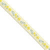 Floral Scallop Jacquard Ribbon | Lucky Weaving Lace Co Ltd | f1302