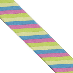 Striped Jacquard Woven Ribbon | Lucky Weaving Lace Co Ltd | LH0127-04