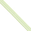 Scallop Edges Gingham Ribbon | M10YA757-09 - Lucky Weaving Lace Co Ltd