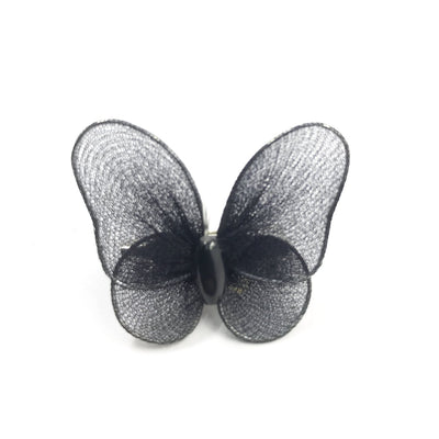 5 pieces sheer butterfly decoration pin | SKCP001 - Lucky Weaving Lace Co Ltd