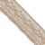 Velvet Decorated Crochet Trim | T2-S260-05