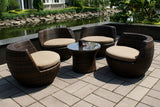 5-Piece All-Weather Lounge Set